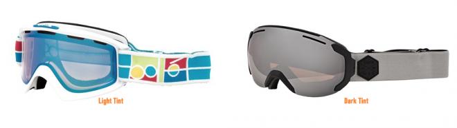 Ski Goggle Tints