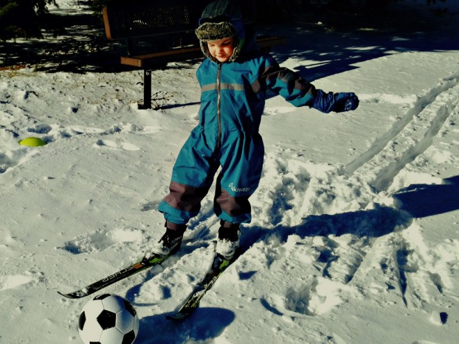 Teaching Kids to Cross Country Ski