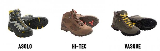 Sierra Trading Post Hiking Boots