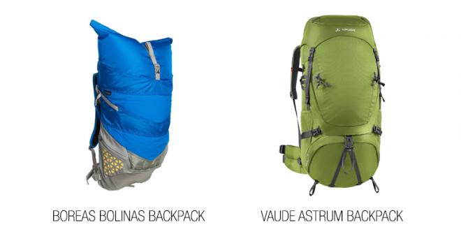 Sierra Trading Post Backpacks