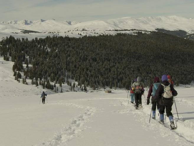 Breckenridge Colorado Snowshoe