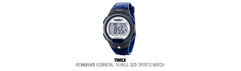 Ironman triathlon watch