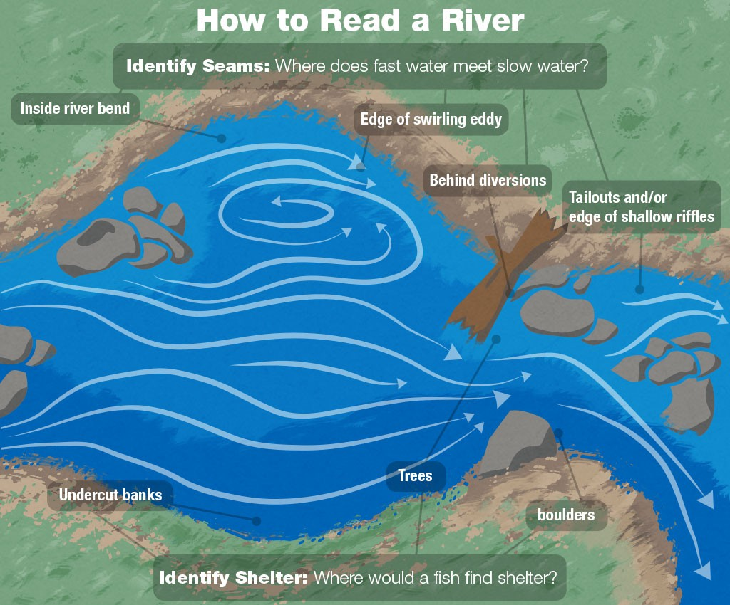 how to read a river for fly fishing sierra trading post blog
