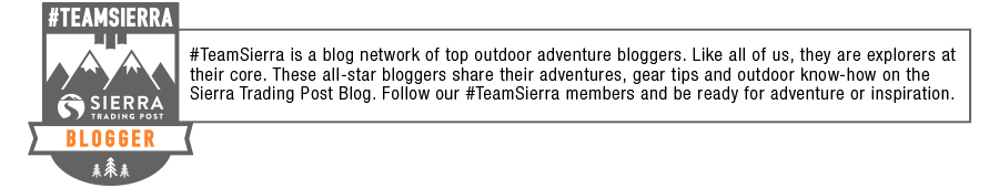 Team Sierra blogger