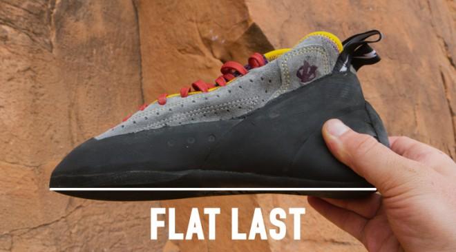 climbing shoe fit