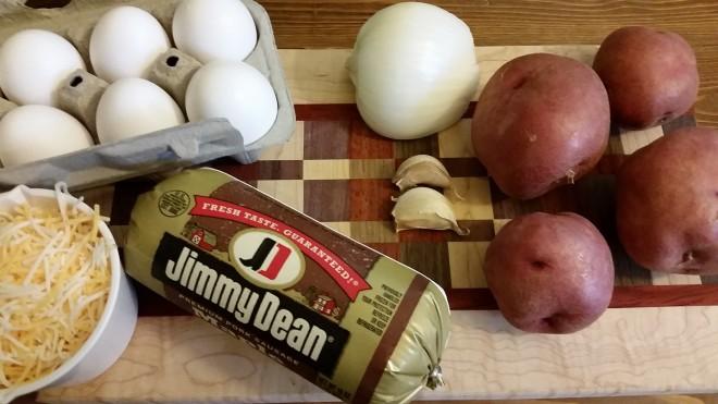 camping breakfast recipe mountain man