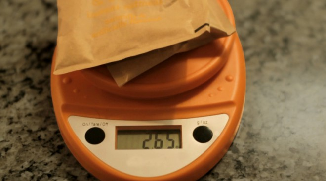 Backpacking Food Weight