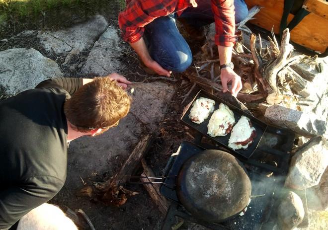 Canoe Trip Meals