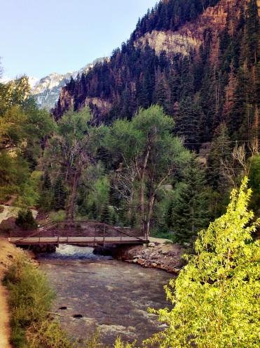 Ouray, Colorado Uncompahgre River Walk Trail
