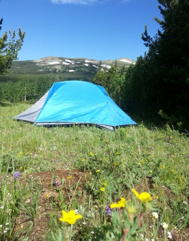 Dispersed Camping Colorado Caribou Townsite