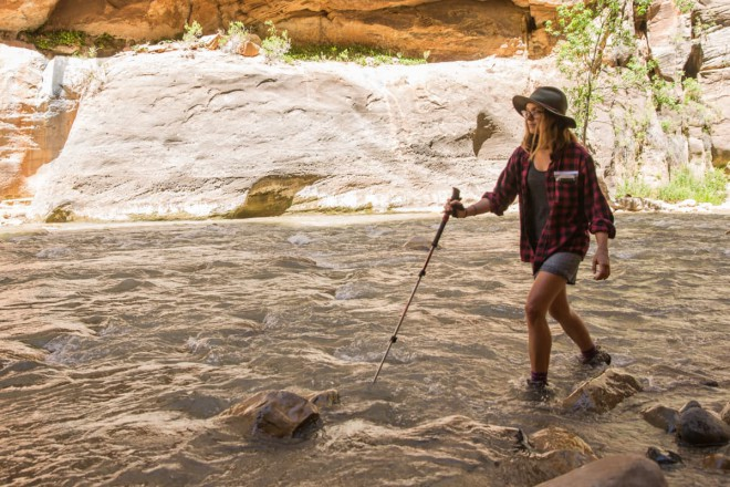 Hiking The Narrows Zion Clothing