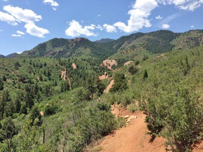 dog-friendly hikes Colorado Springs