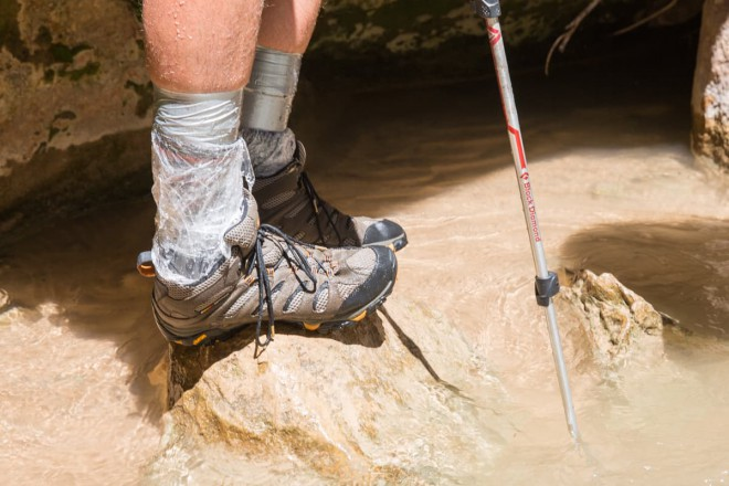 Hiking The Narrows Footwear