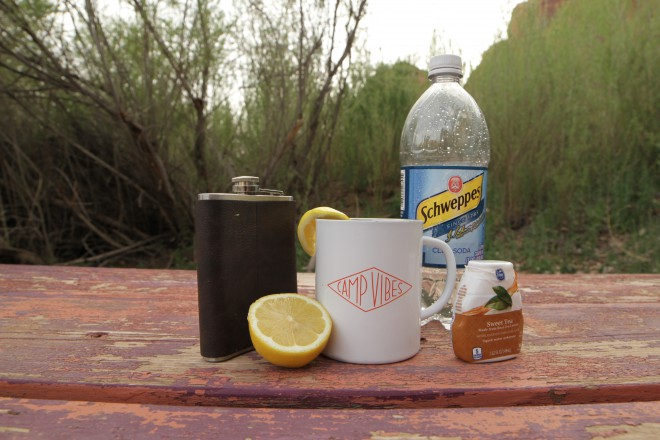 Whiskey Camping Cocktail Recipe Whiskey Sweet Tea
