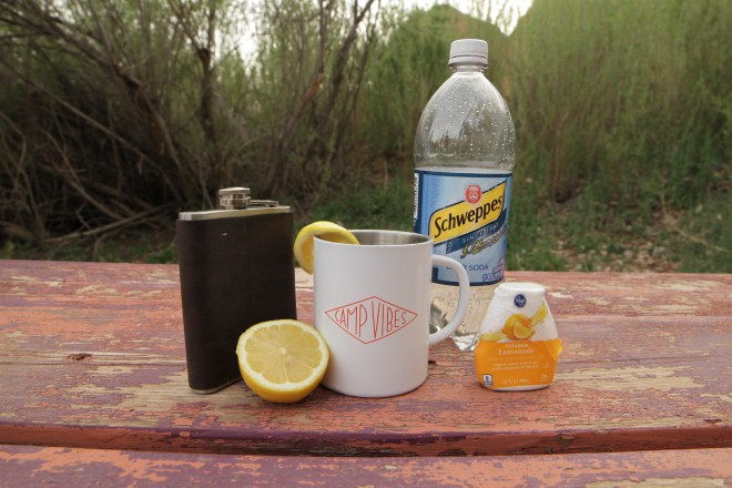 Whiskey Camping Cocktail Recipe Whiskey Lemonade
