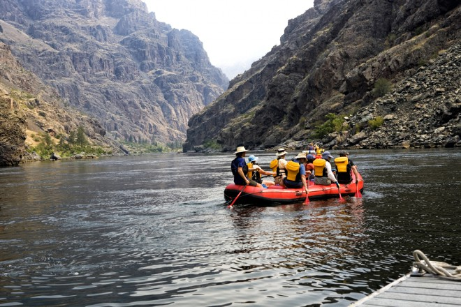 Idaho Adventures -- Rafting Hells Canyon