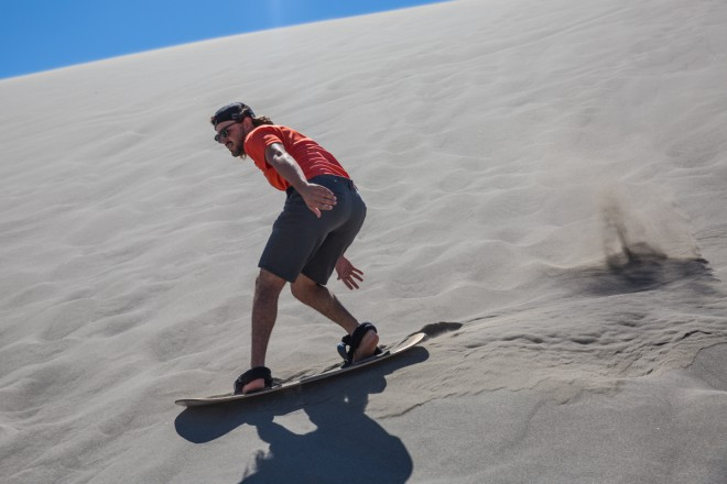 Adventures in Idaho - Sandboard
