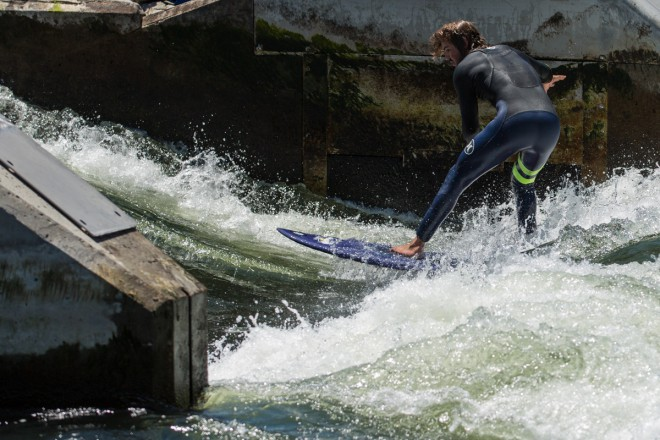 Idaho Adventures - Surfing