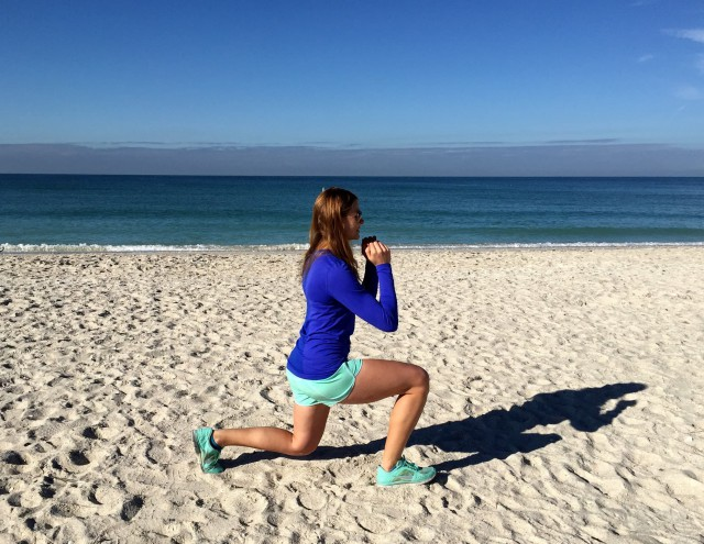 backpacking exercises lunges