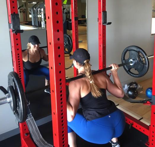 backpacking exercises back squat