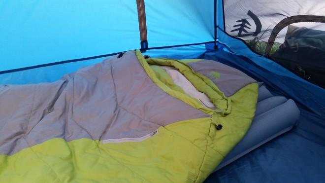 Fall Camping Sleep System