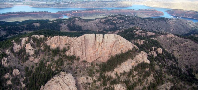 Fort Collins Horsetooth Rock
