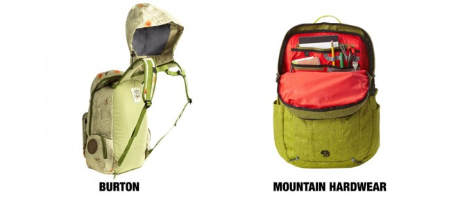 backpacks features