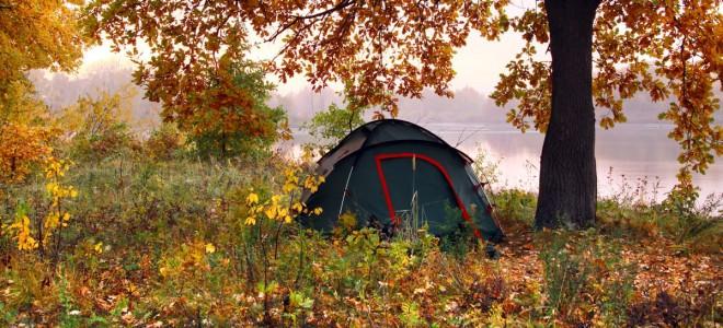 Fall camping preparation