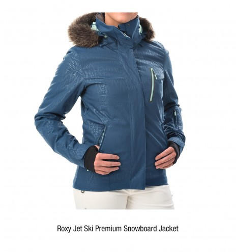 winter outerwear innovations ISIS Roxy
