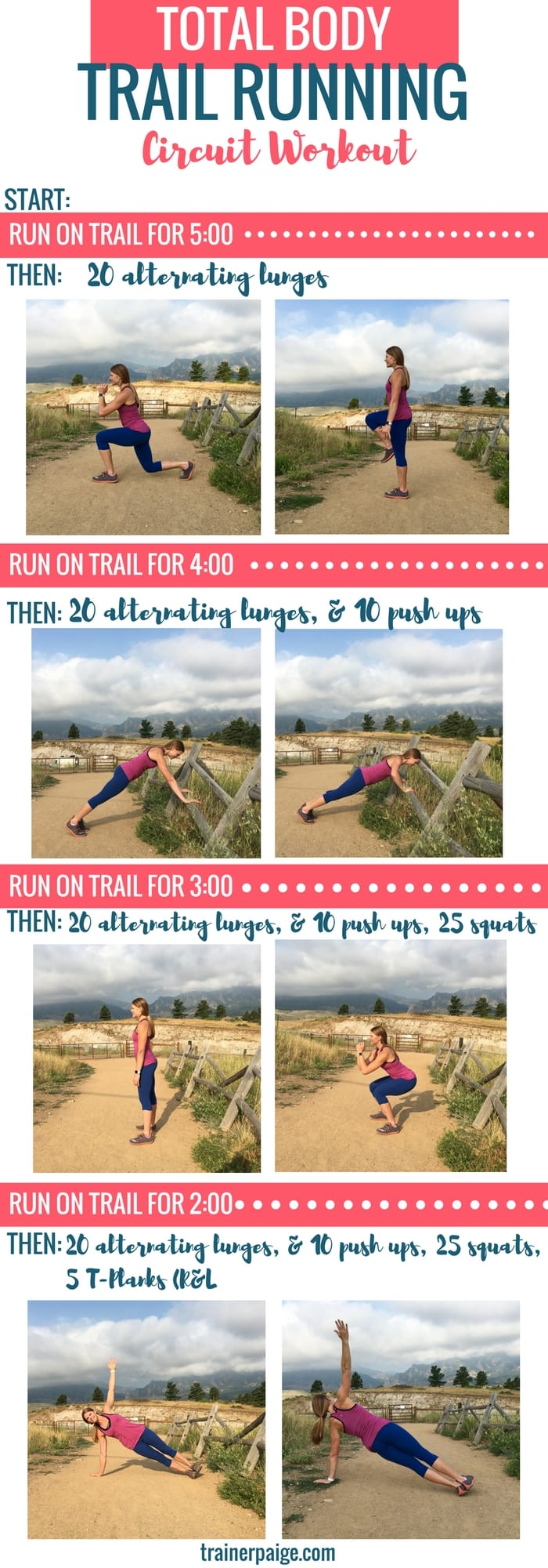 Trail Running Circuit Workout