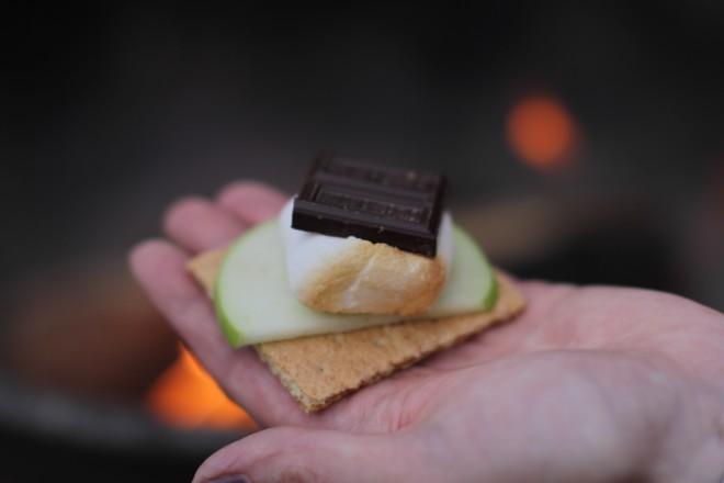 apple cinnamon s'more recipes