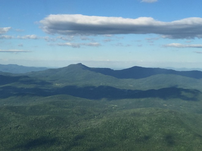 Vermont's highest mountains camels hump