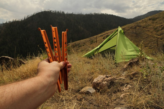 Which Tent Stakes are Best? Snow stake