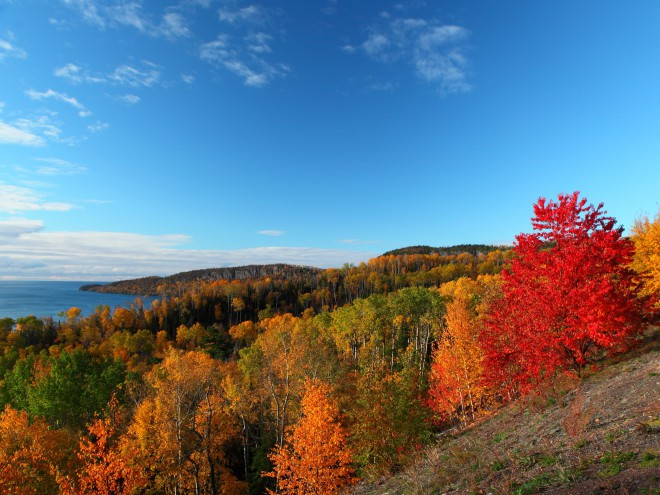 fall hikes Minnesota