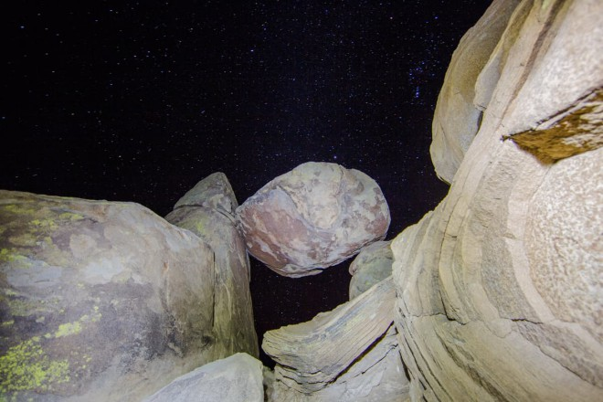 stargazing Big Bend National Park