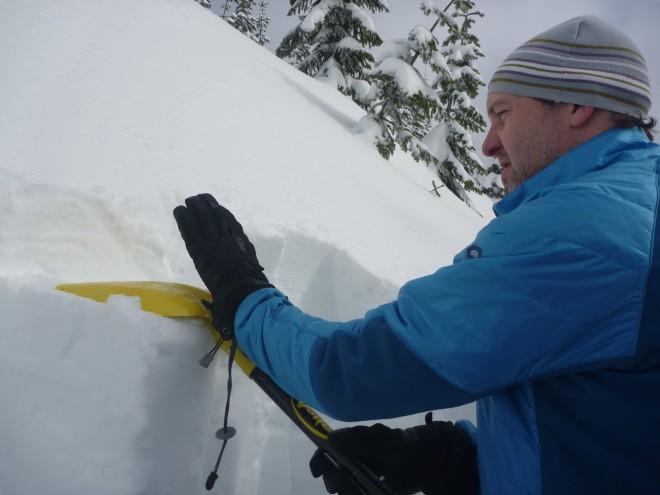 snowpit test