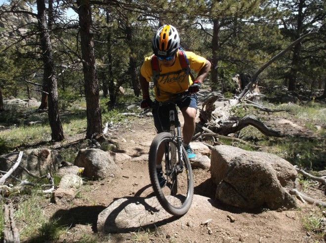 Wyoming State Park Mountain Biking