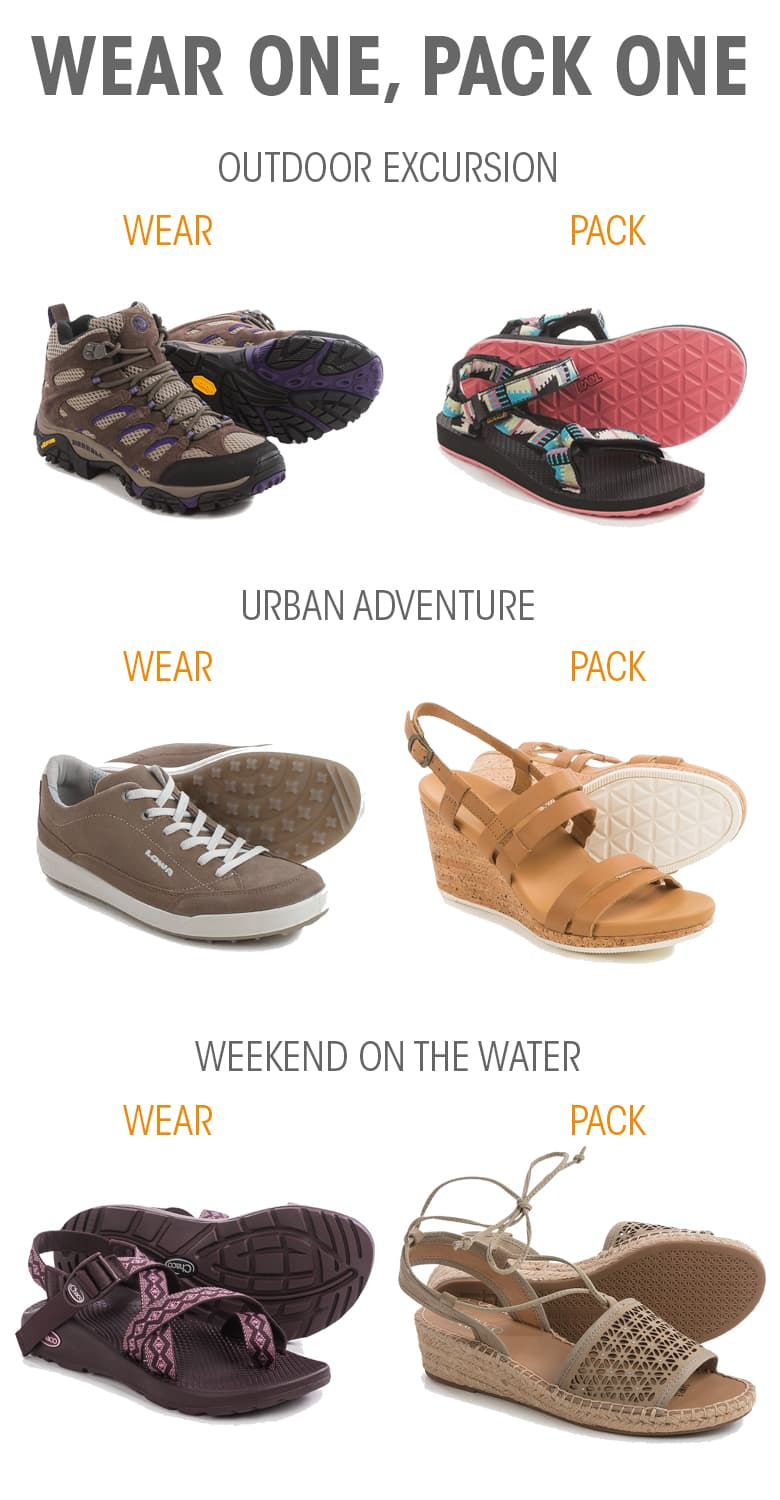 27f43c30944 Pack the Best Travel Shoes without Overloading Your Luggage
