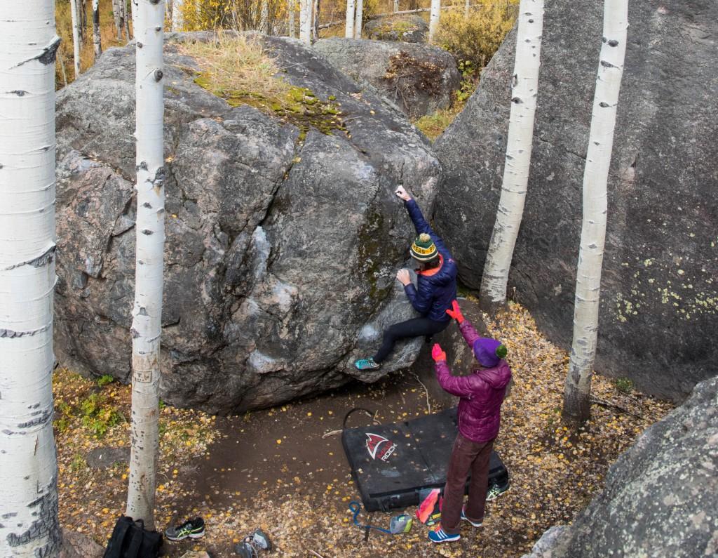 essentials to start bouldering
