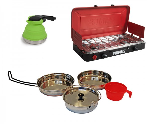 campsite cooking tools