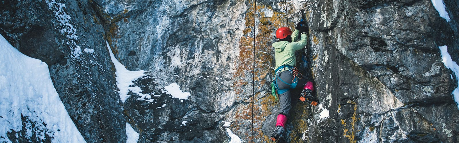Ice Climbing Clothing and Footwear