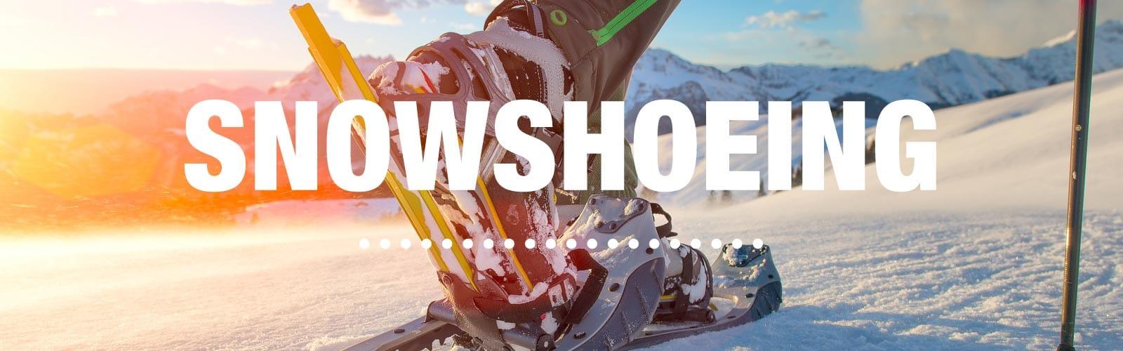 Snowshoeing Checklist