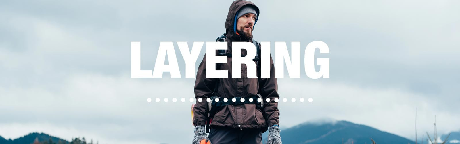 When it comes to staying comfortable in the great outdoors, layering is easily one of the best methods for adapting quickly to changing weather conditions.