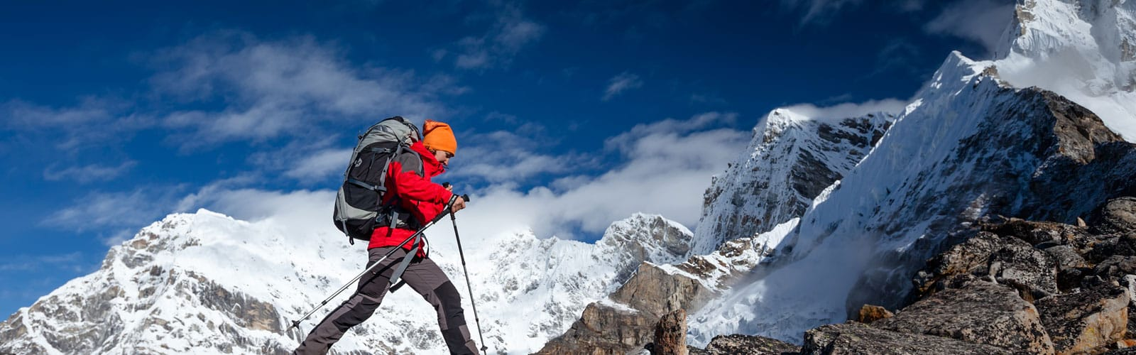 Mountaineering Clothing and Footwear