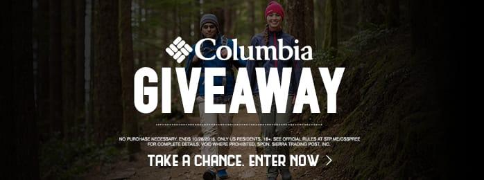 Columbia Giveaway!