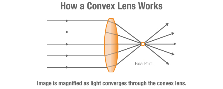 Convex Lens Diagram