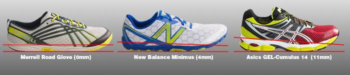 Zero Heel Drop Running Shoes 69