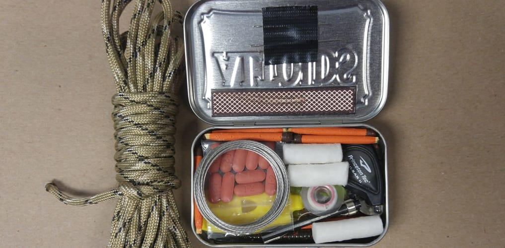 Survival Kit Open