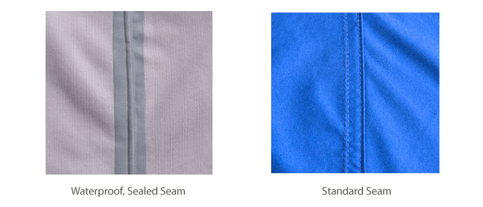 Sealed Seam vs Standard Seam