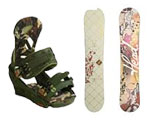 Snowboards, Bindings & Boots